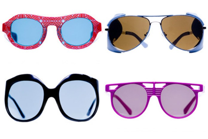 Linda Farrow 2009 Spring Collaboration Eyewear