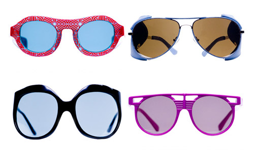 Linda Farrow 2009 Spring Collaboration Eyewear