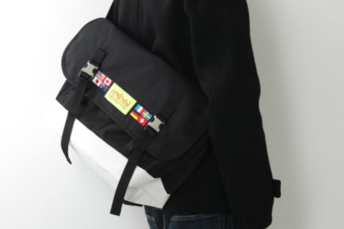 Manhattan Portage World Flag Messenger Bag