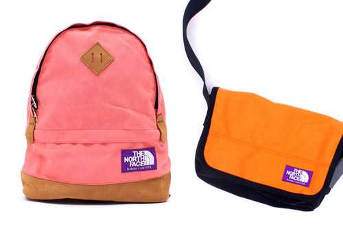 "Nanamica x The North Face ""Purple Label"" Bags"