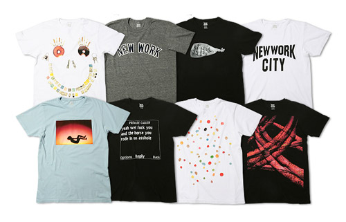 New Work Artist Series T-shirt Collection