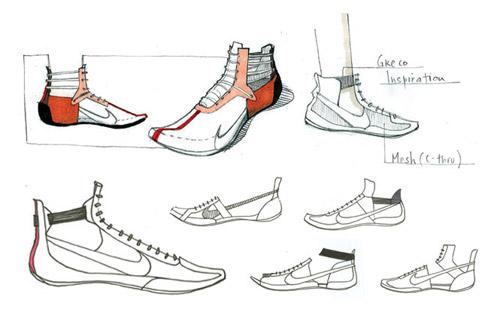 Nike Re-mixed & Re-cut by Nancy Wu