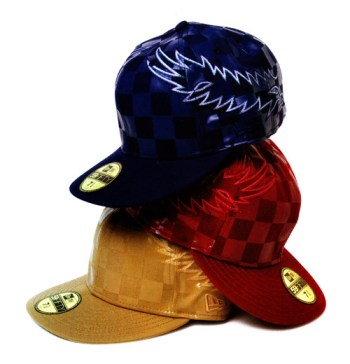 Number (N)ine x New Era Checkered Cap Collection