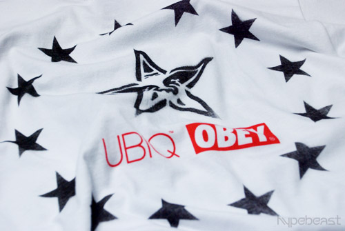 "UBIQ x Obey ""Let Freedom Ring"" T-shirt"