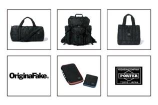 OriginalFake x Porter Bag Collection