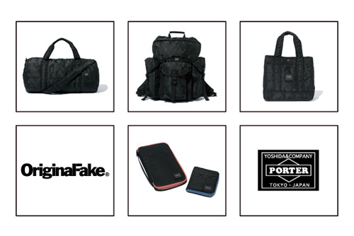 OriginalFake x Porter Bag Collection