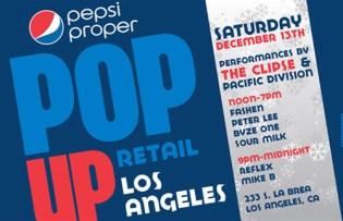 Pepsi Proper Los Angeles