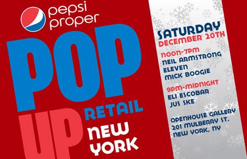 Pepsi Proper New York