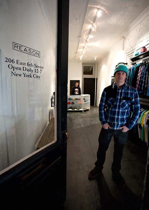 Reason Clothing Flagship Store Opening