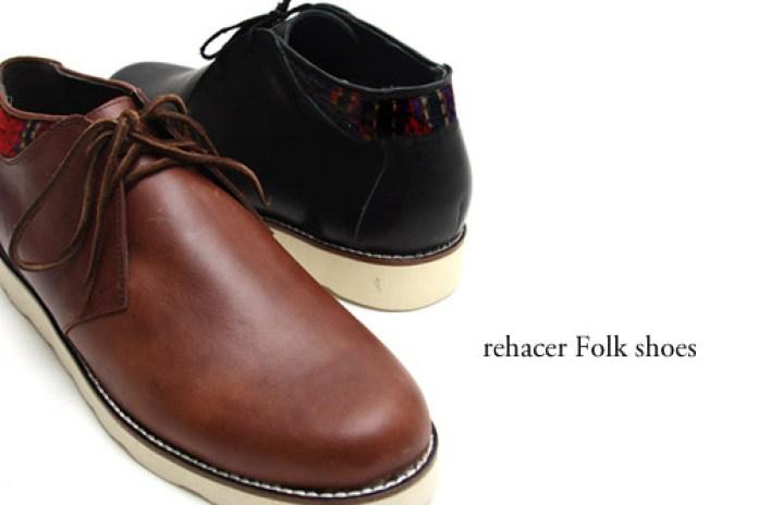 rehacer Folk shoes