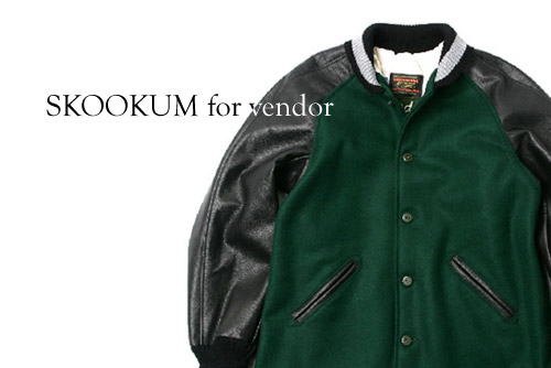 SKOOKUM for vendor SURCOAT Jacket