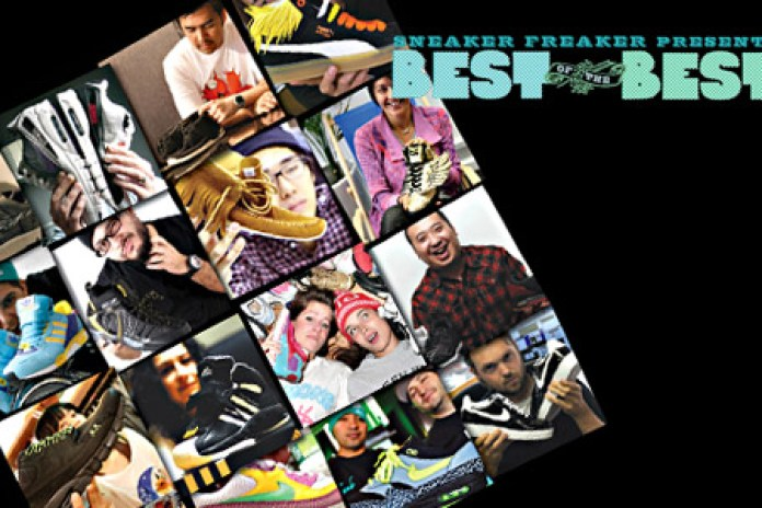 Sneaker Freaker Best of the Best 2008