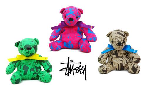 Stussy x Delta Print Novelty Bears