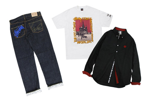 Stussy x Futura Laboratories 10th Anniversary Collection