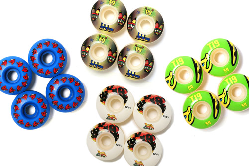T19 x Medorra Skate Wheels