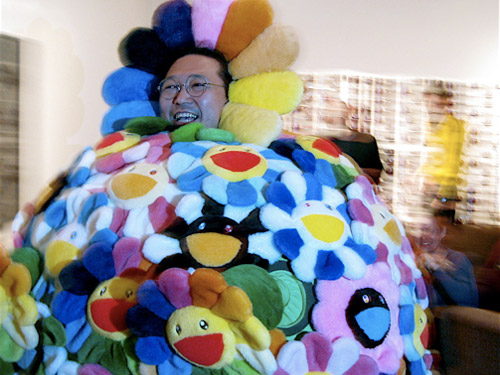 Takashi Murakami at Art Basel Miami