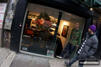 The Hundreds Visit with SSUR