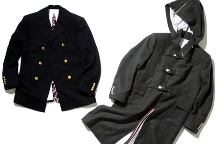 Thom Browne 2008 Fall/Winter Outerwear Selections