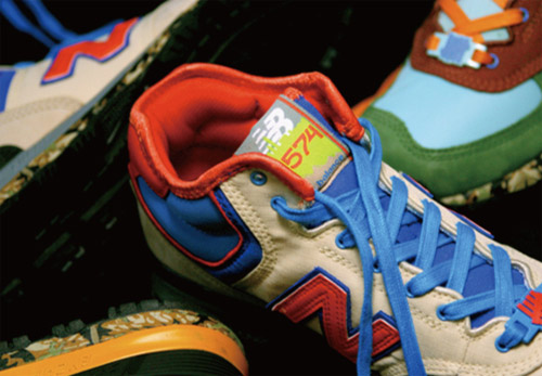 "UNDFTD x New Balance H574J ""Man vs. Wild"""