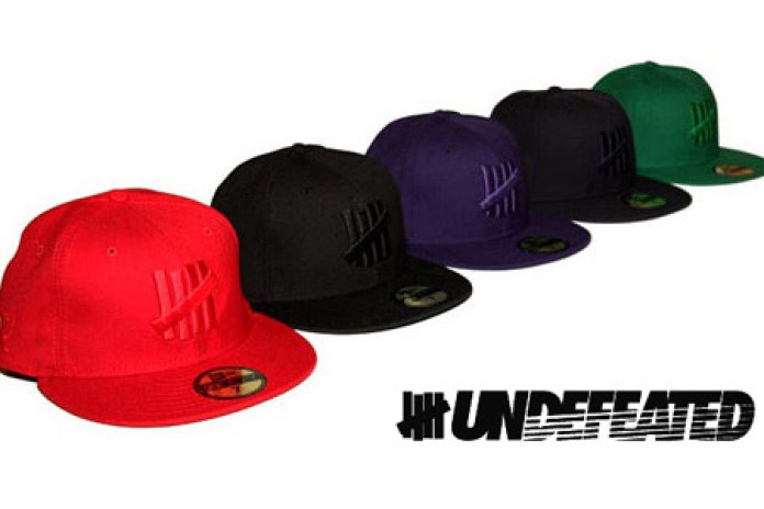 "UNDFTD New Era 59Fifty ""Monochrome"" Fitted Caps"