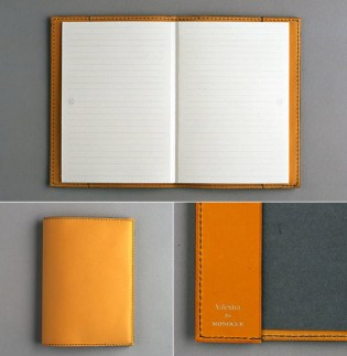 Valextra for Monocle Leather Notebook