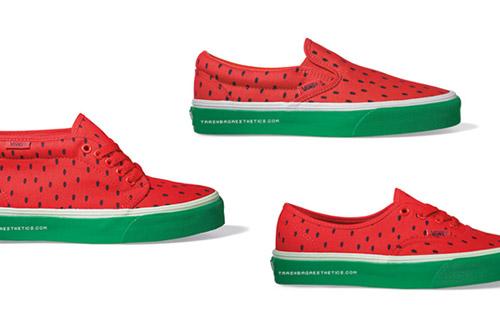 Vans 2009 Spring Summer Watermelon Pack Hypebeast