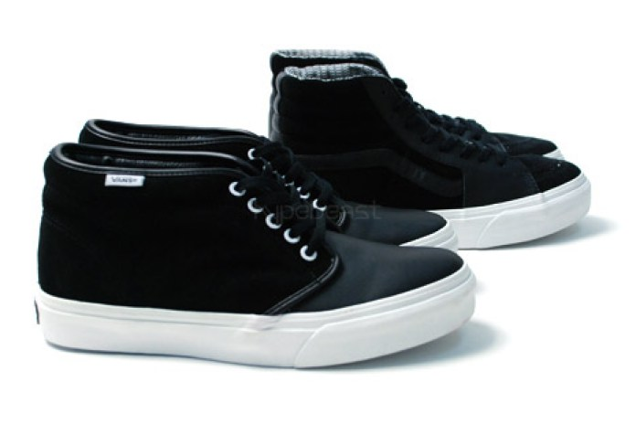 Vans Black Leather Pack
