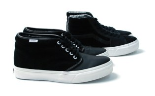 Vans Black Leather Pack