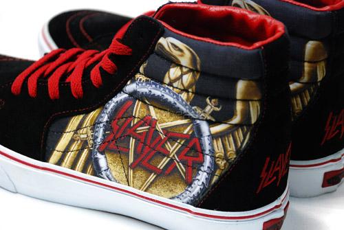 Slayer x Vans SK8-Hi