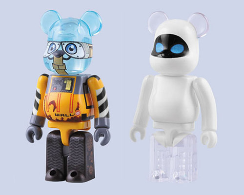 WALL-E & EVE 100% Bearbrick