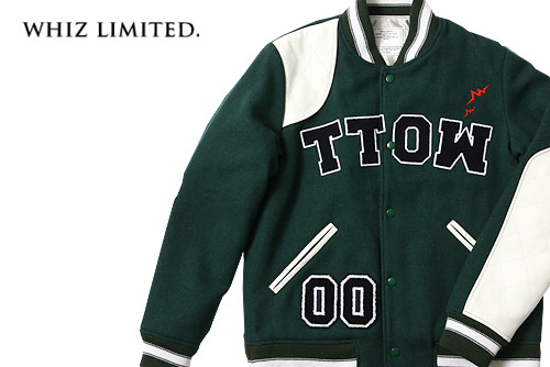 whiz limited 76 Star Varsity Jacket