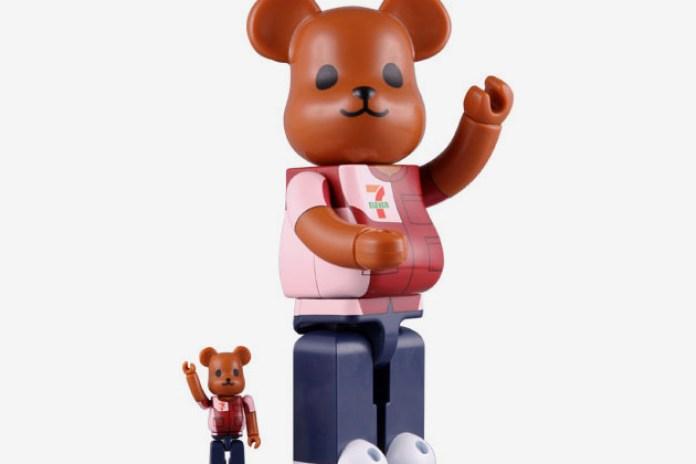 7-Eleven x Medicom Toy 100% & 400% Beabrick