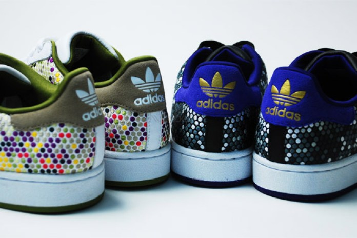 """adidas Originals 60 Years of Soles and Stripes """"Color Vision"""" Superstar"""