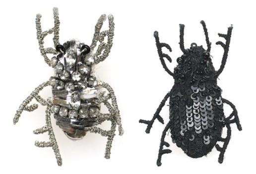 Ann Demeulemeester Beetle Brooch