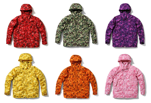 A Bathing Ape 2009 Spring/Summer January Releases