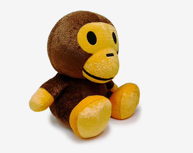 A Bathing Ape Gold Members 15th Anniversary Baby Milo Plush Toy