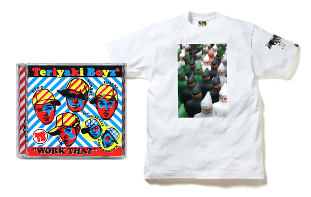 "A Bathing Ape ""Work That"" Teriyaki Boyz Tee & CD"