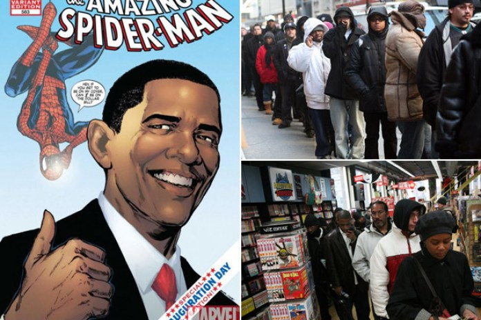 Barack Obama x The Amazing Spider-Man Comic Book Release