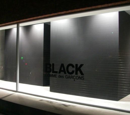 BLACK Comme des Garcons Store