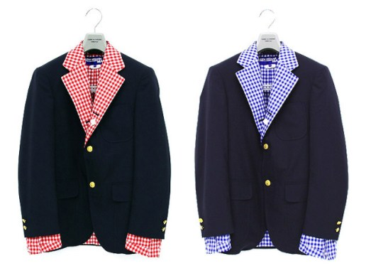 Brooks Brothers x Comme des Garcons Junya Watanabe Man Reversible Jacket
