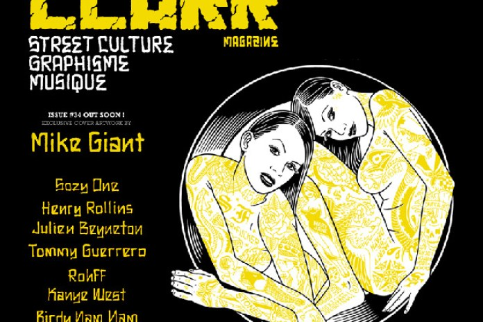 Clark Magazine Issue No. 34 featuring Mike Giant