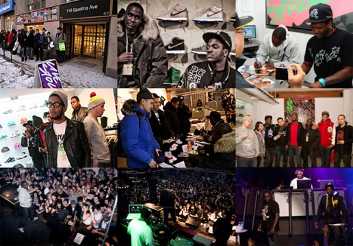 The Clipse x Livestock Instore
