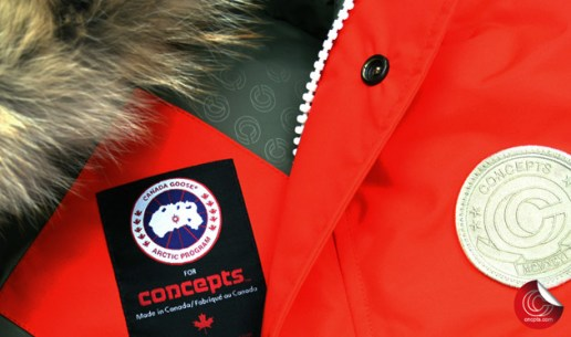 Concepts x Canada Goose Orange Parka