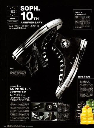 Converse x SOPHNET. 10th Anniversary All-Star Hi