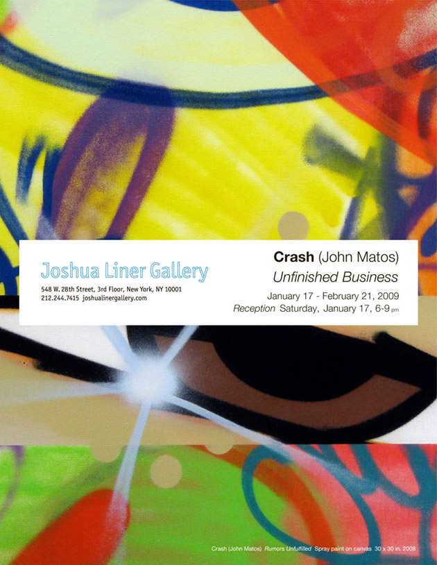 "Crash ""Unfinished Business"" Exhibition"