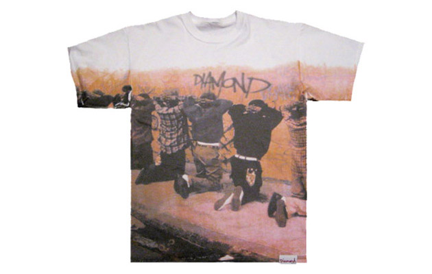 "Diamond Supply Co. ""Harassment"" T-shirt"