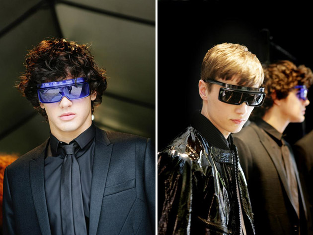 dior homme springsummer 2009 sunglasses
