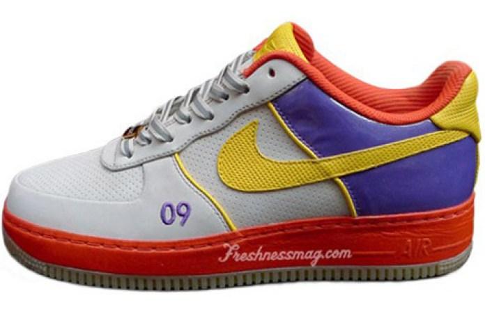 """Starks x DJ Clark Kent x Nike """"2009 NBA All-Star Game"""" Air Force 1 Tier 0"""