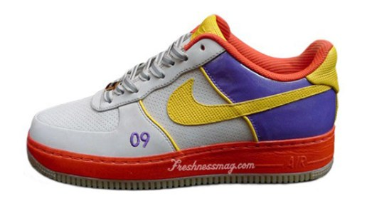 "Starks x DJ Clark Kent x Nike ""2009 NBA All-Star Game"" Air Force 1 Tier 0"