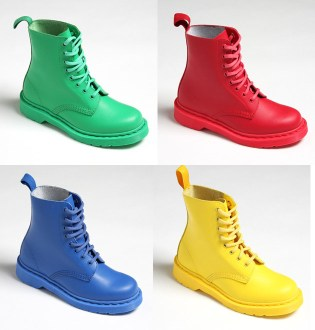 Dr. Martens Primary Pascal 8 Eye Boot Collection